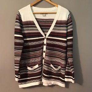 Natural Reflections Lightweight Knit Cardigan